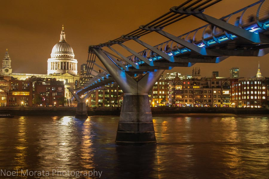 St. Paul's and the Millennium bridge - Cool attractions to explore in South bank