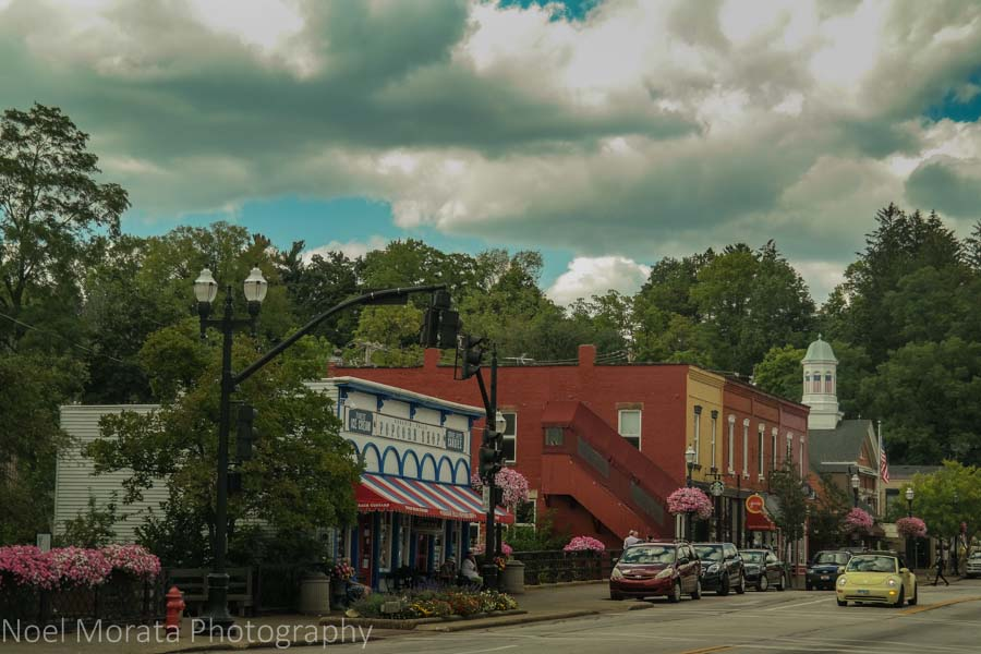 Chagrin falls town -  Cleveland, Ohio