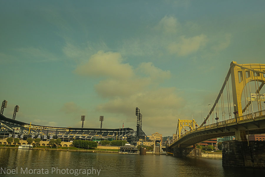 The ballpark on the Allegheny River - A first impression of Pittsburgh