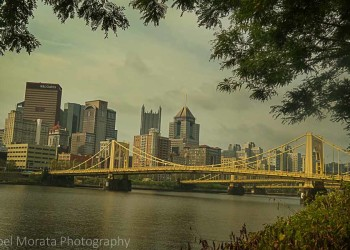 North riverfront walk - A first impression of Pittsburg