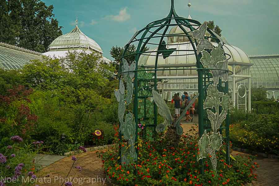Outdoor gardens - Phipps conservatory tour