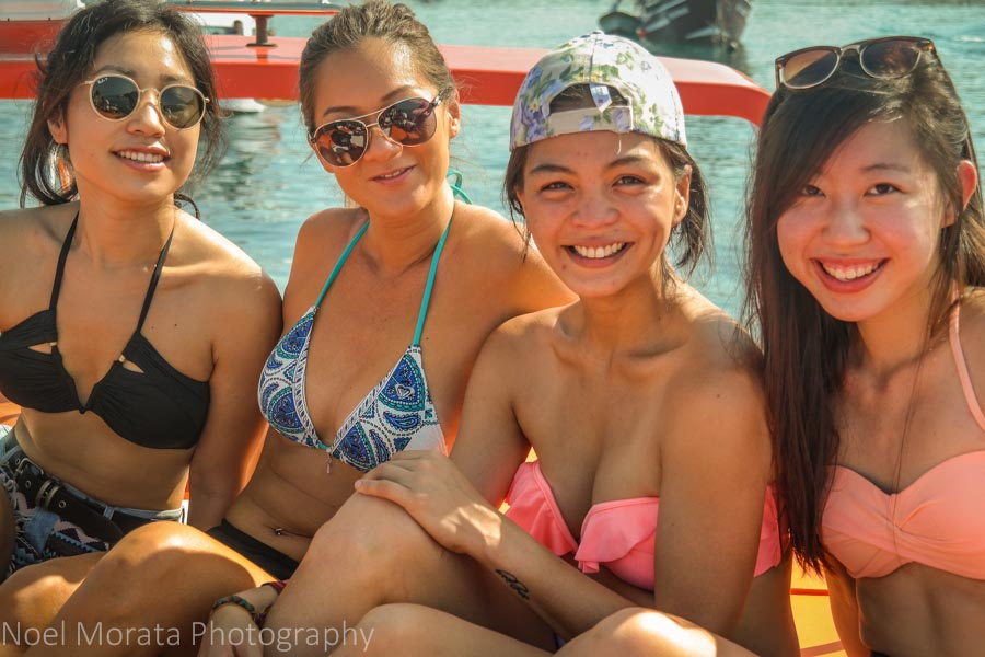 Babes on board - Komodo National Park