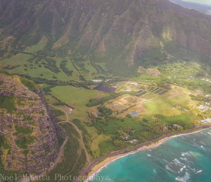 A beautiful gulch in East Oahu - Helicopter ride around Oahu