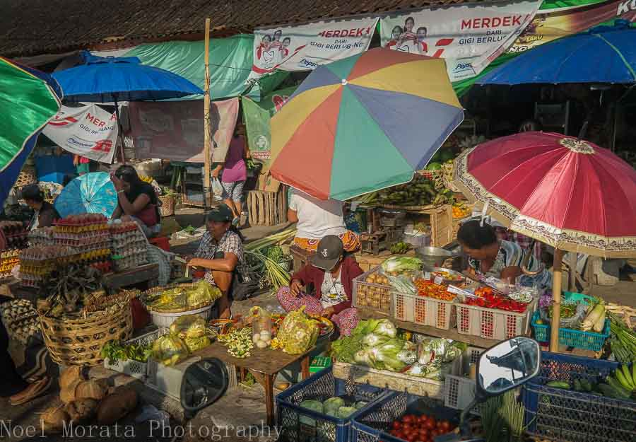 A local produce market in Tabanan, Bali - Markets in Bali