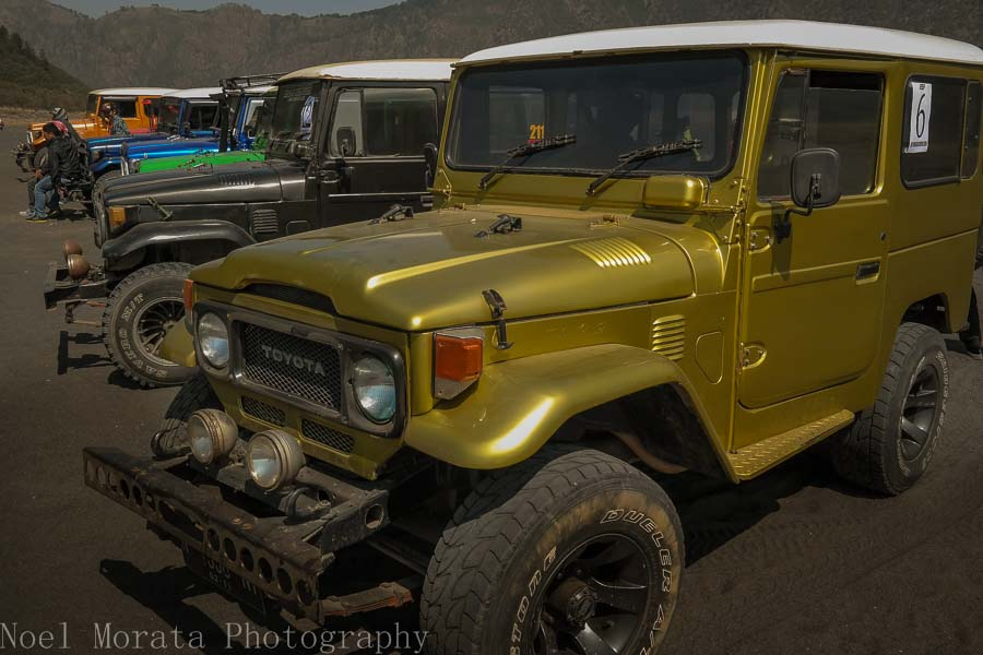 HIred jeep rides at Bromo - Visiting Mt. Bromo, Indonesia