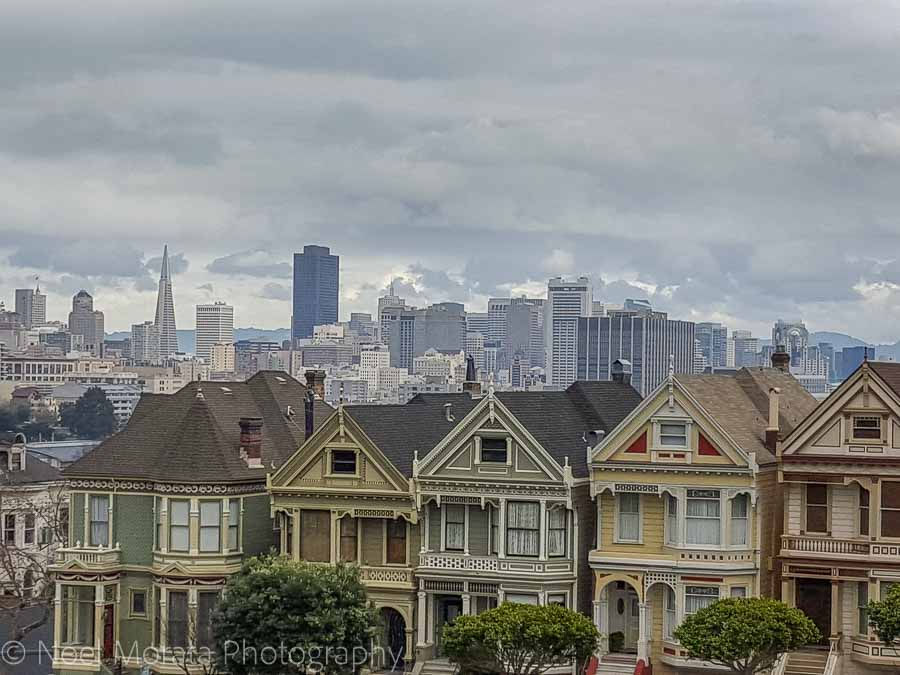 Painted ladies at Alamo Square park - Fun and unusual activities to do in San Francisco