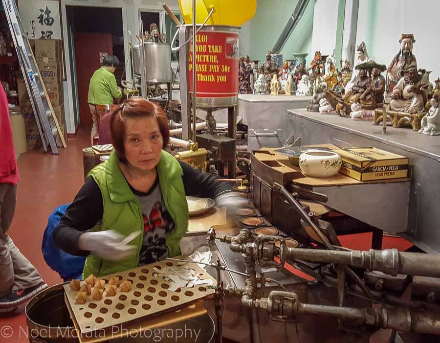 Fortune cookie factory in Chinatown - Fun and unusual activities to do in San Francisco
