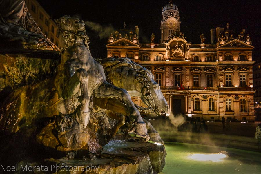 Lyon at night - European destinations for your bucket list