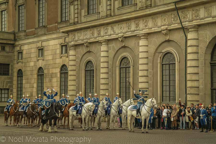 Changing of the guards - Top 20 things to do in Stockholm, Sweden