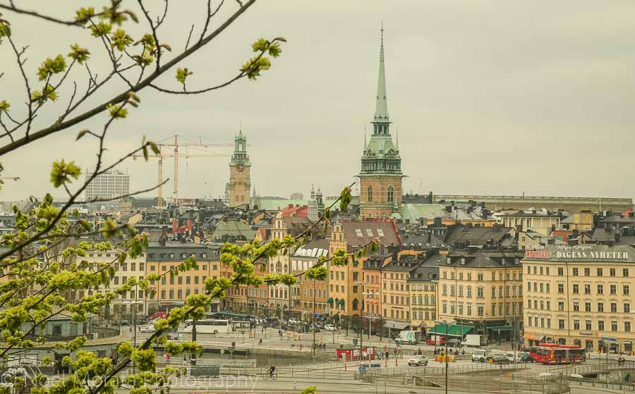 Scenic views of Stockholm - Visiting Stockholm - a first impression