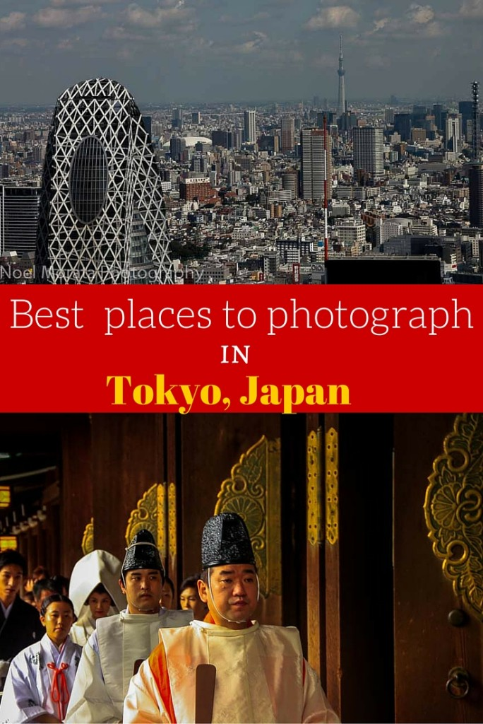Best places to photograph Tokyo Japan