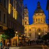 St. Stephen's Basilica - Budapest at night