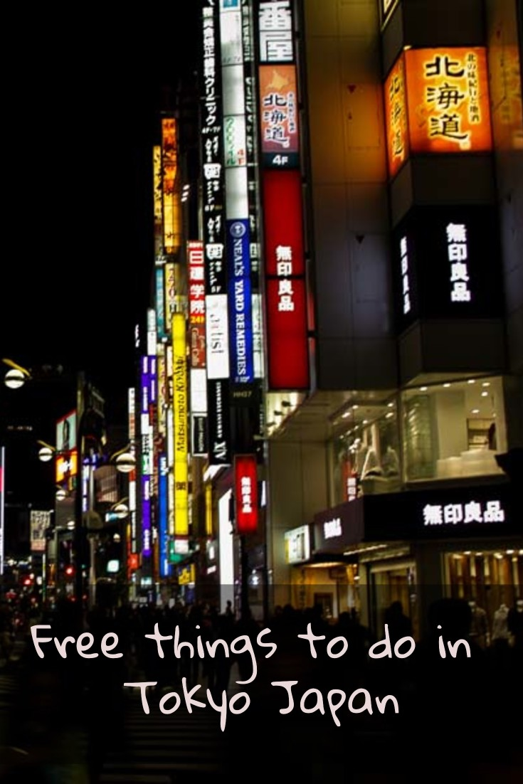 20 Free things to do in Tokyo
