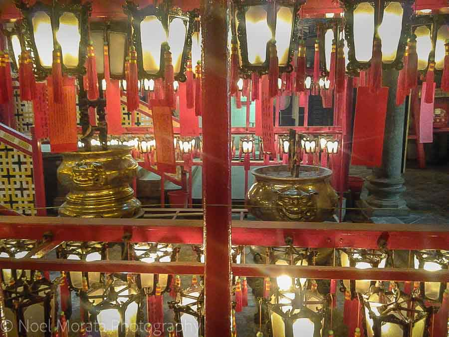Buddhist temple in Hong Kong - Top food destinations around the world