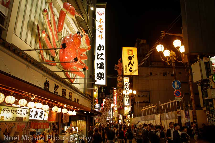Dotonbori with huge 3d displays - Exploring Dotonbori in Osaka
