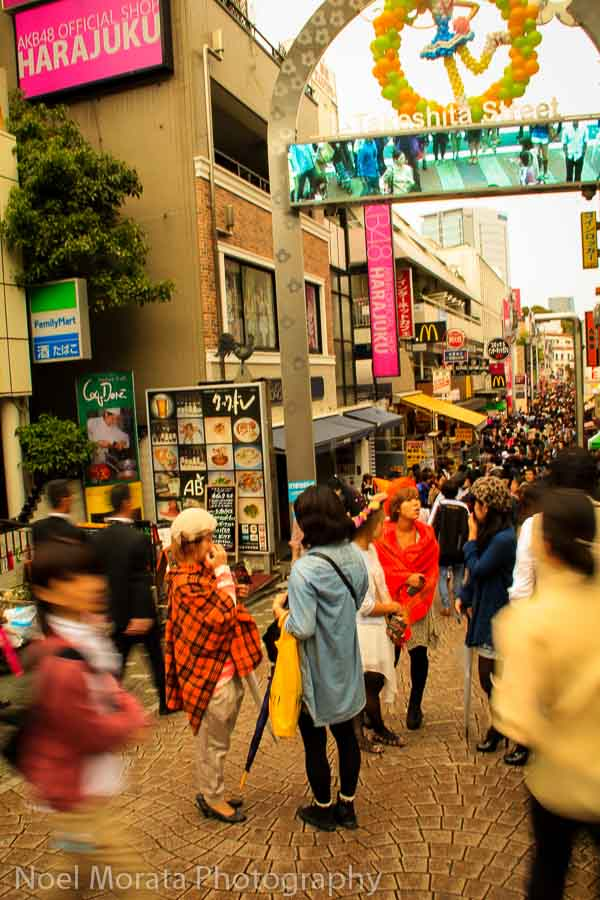 Harajuku area - Best places to photograph Tokyo Japan