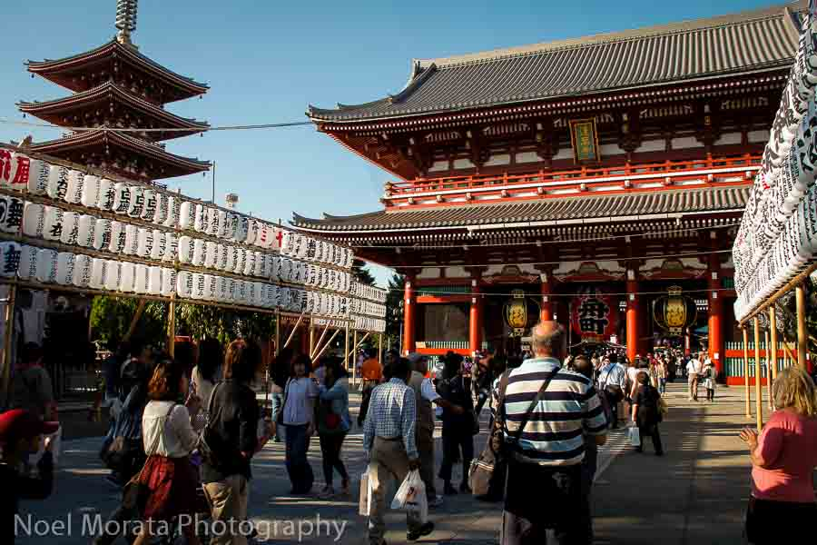 Buddhist temple of Senso-Ji - Best places to photograph Tokyo