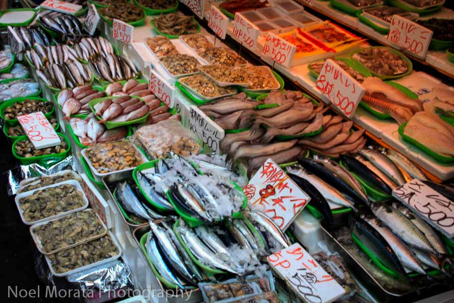 Outdoor markets at Ueno Station - Best places to photograph Tokyo
