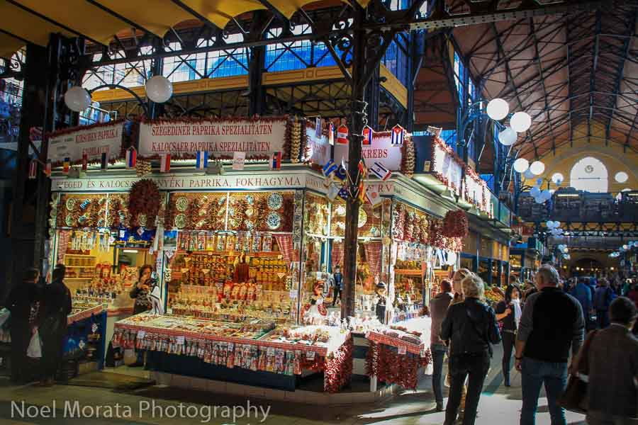 Budapest Central Market Best places to photograph Budapest, Hungary