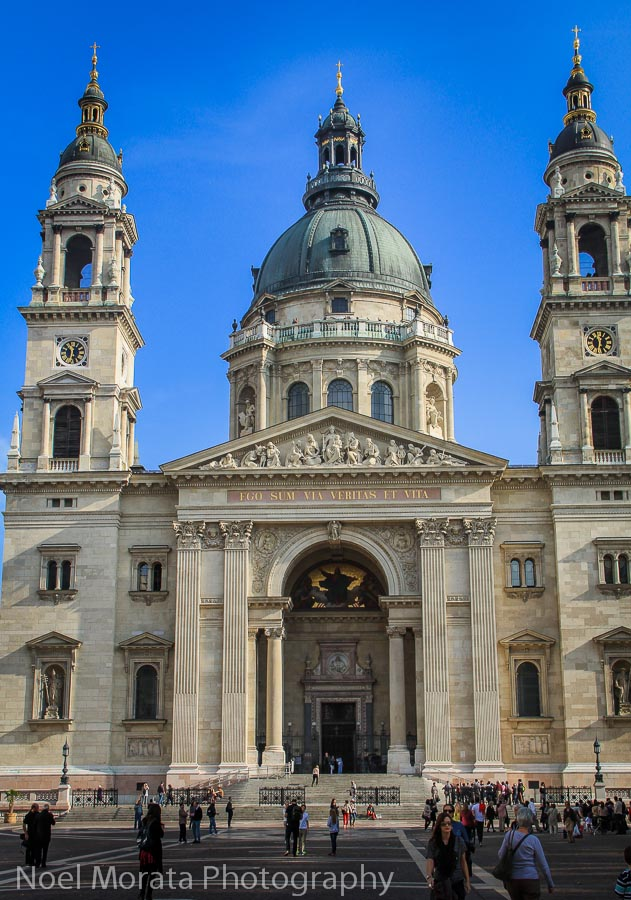 St. Stephen's Basilica Best places to photograph Budapest, Hungary