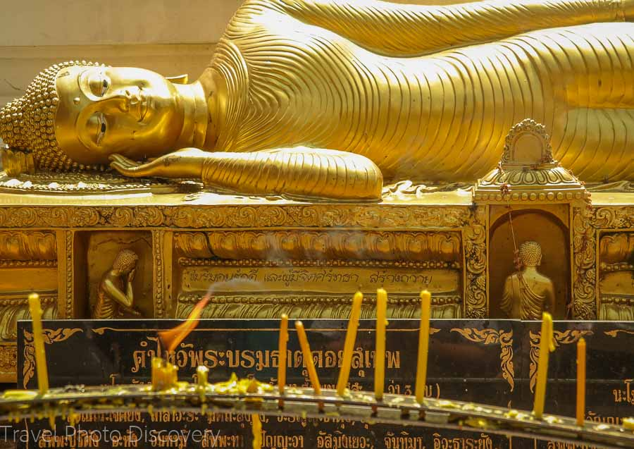 Buddha at the Golden Chedi Visiting Wat Phra That Doi Suthep