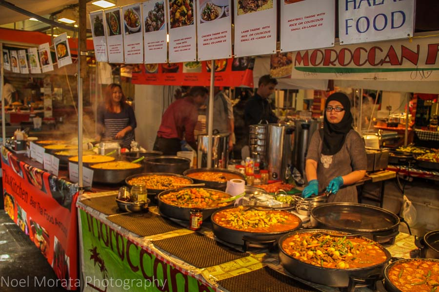 A food tour in East London places to visit in London