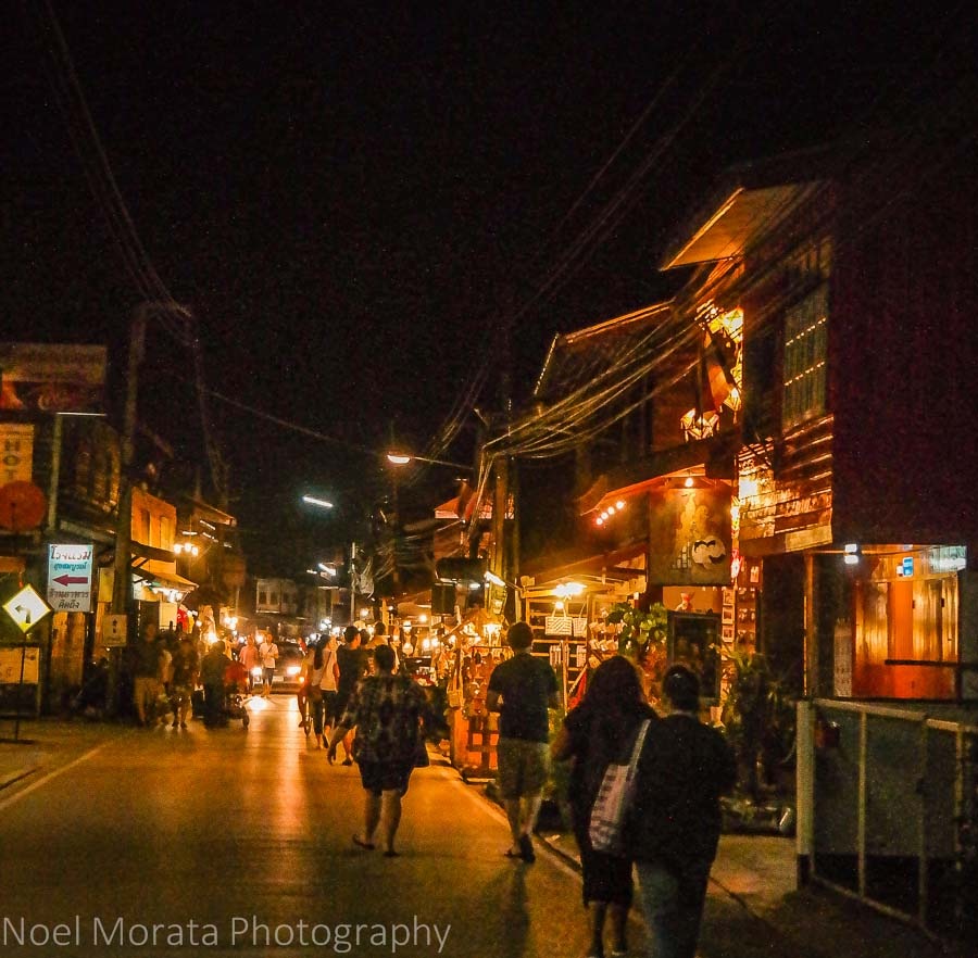 Pai Night market 15 things to do in Northern Thailand