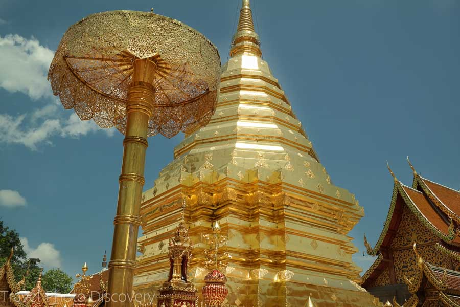 Golden temple mount 15 top places to visit in Northern Thailand