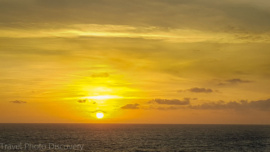 Adonia sunrise Voluntourism with Fathom cruise
