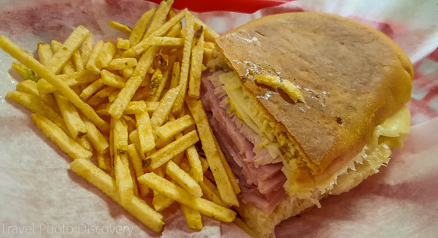 Cuban sandwich in Little Havana, Miami