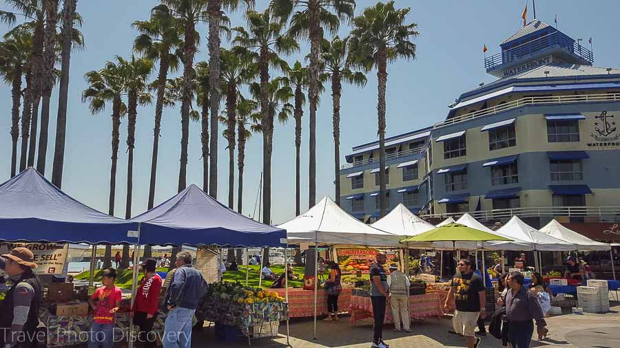 Farmers market at Jack London Square Oakland