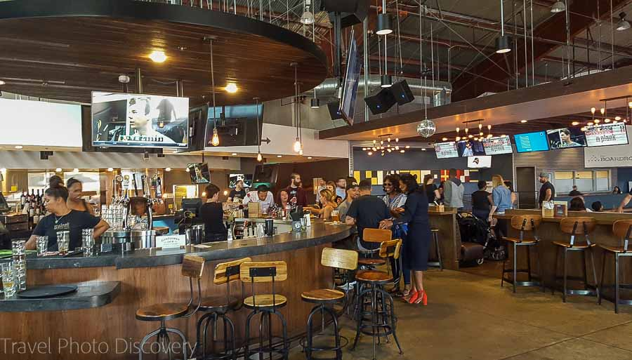Inside the Plank in Jack London Square Oakland