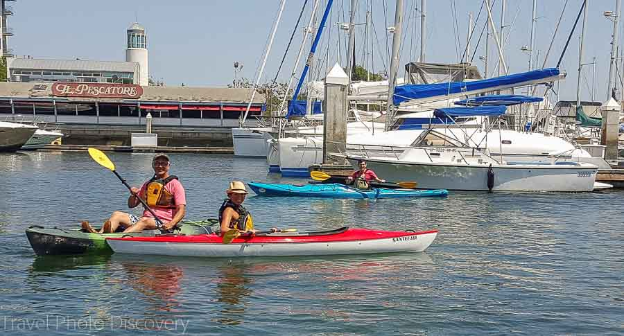 Kayaking at Jack London Square Oakland