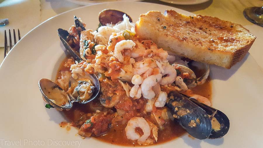 Scott's Seafood Grill and Bar Cioppino dish