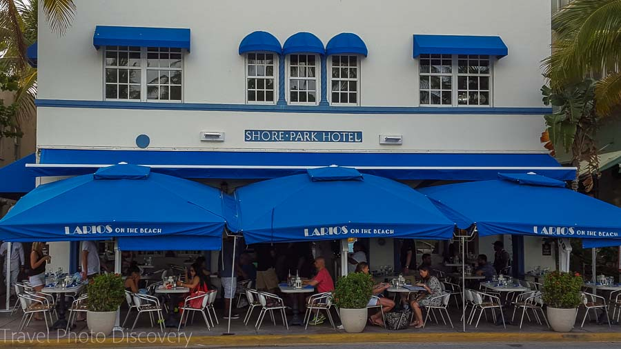 Larios restaurant on Ocean Drive - South Beach food tour