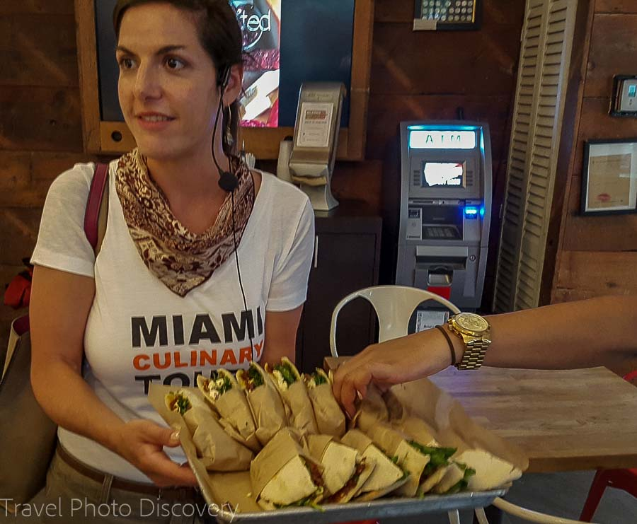 Panini sandwich at South Beach food tour