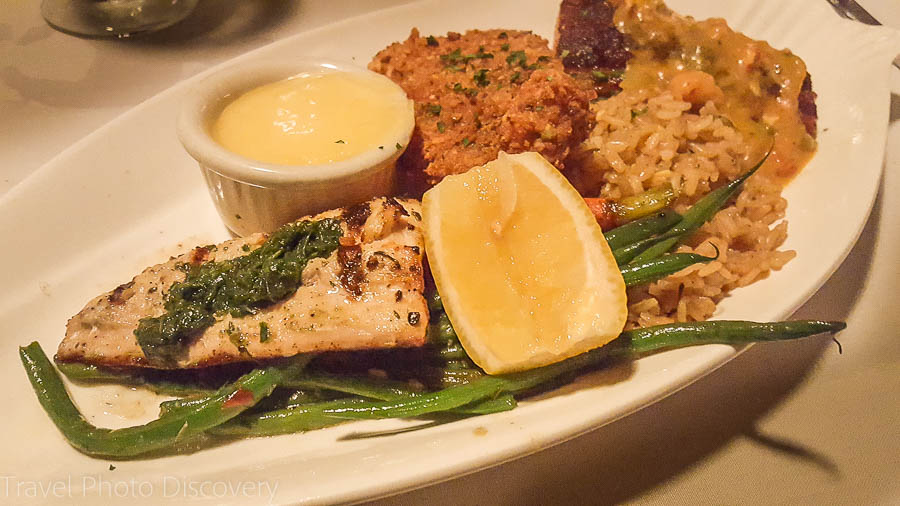 Fish three ways at Chef Michael's, Islamorada, Florida