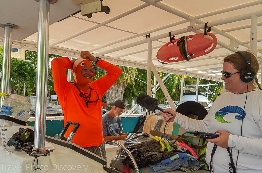 Strike Zone tours the Florida Marine National Sanctuary