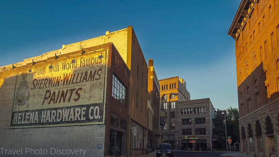 Cool architecture in Helena, Montana area Northwest national park road trip