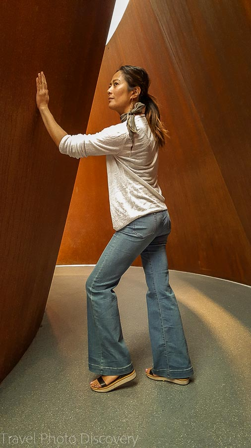 Serra's Sequence Main entry at SFMoma