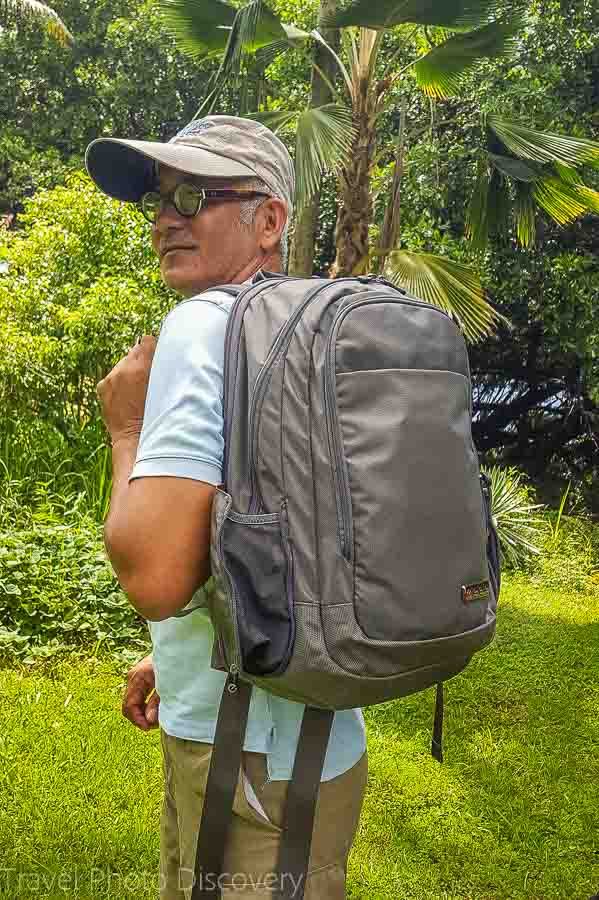 Using the executive pack A perfect backpack ECBC