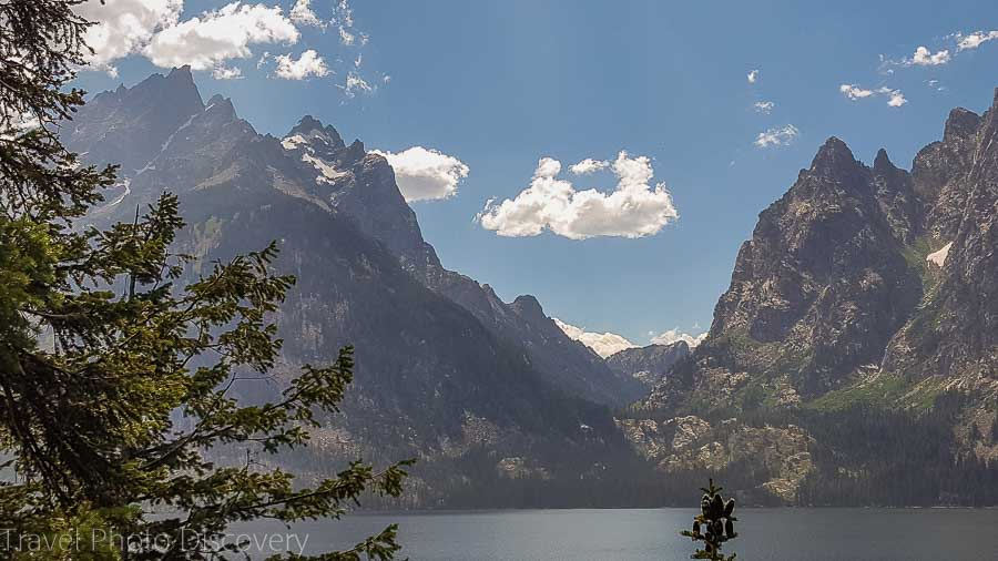 Jenny Lake at Grand Tetons National park