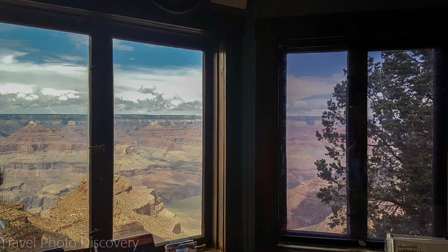 The Lookout Studio views Grand Canyon Village