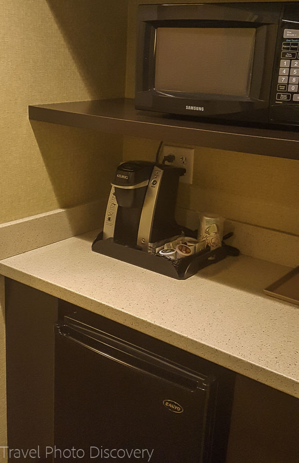 Bar service section at Holiday Inn, Chandler Arizona