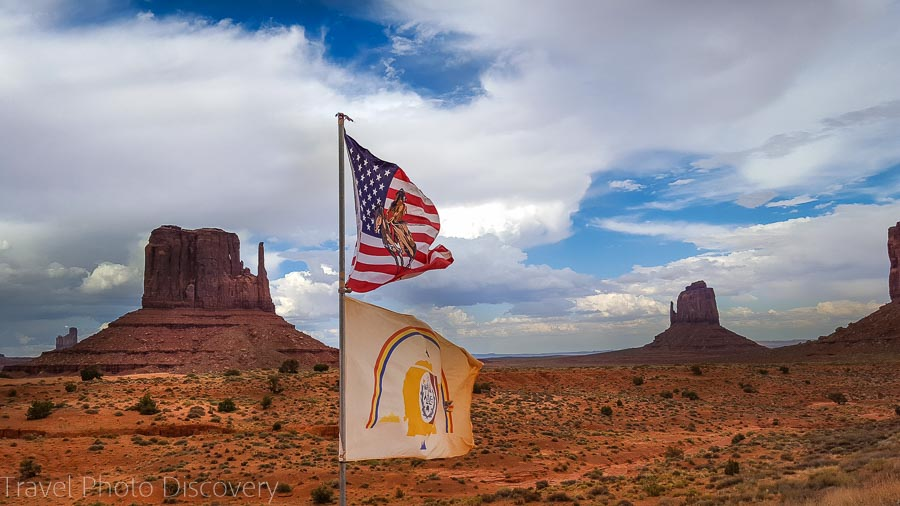 Navaho Nation Visiting and touring Monument Valley in Utah