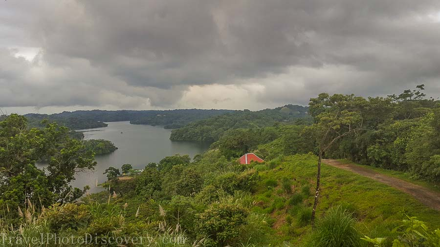 Panoramic view of Gatun Lake, Panama