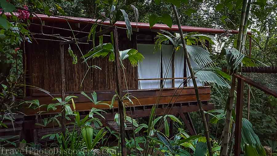 The casita bedrooms at La Loma in Bastimentos Panama