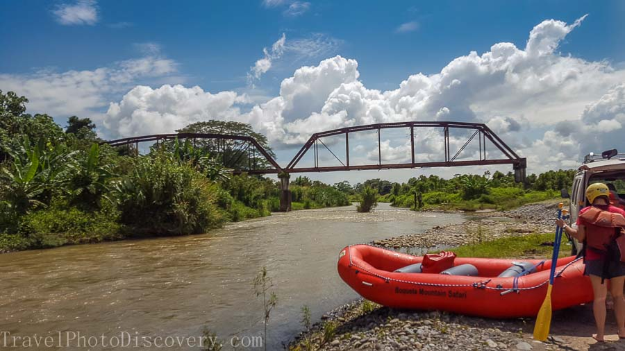River rafting adventure in Boquete, Panama