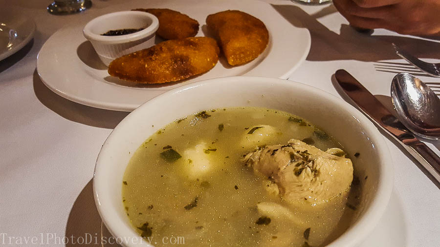 Local favorite - Panamanian chicken soup in Panama City