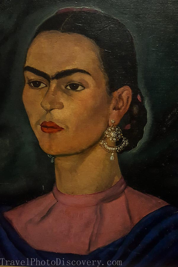 Self portrait Frida Kahlo Museum in Mexico City